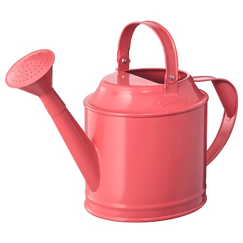SOCKER watering can in/outdoor red-pink 29 cm 5 l