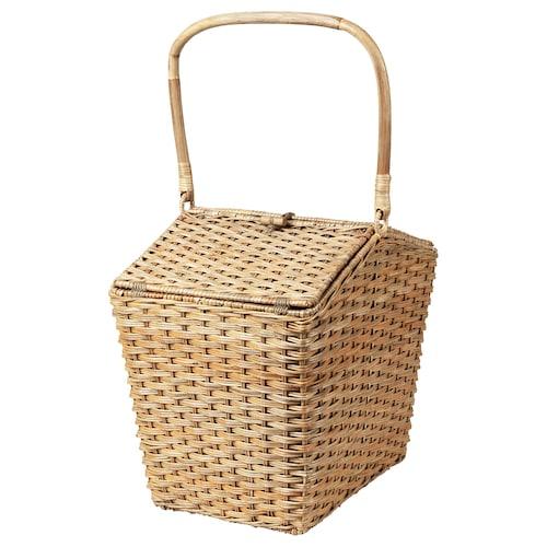 SOLBLEKT cool basket rattan 35 cm 27 cm 36 cm 7 kg 18 l