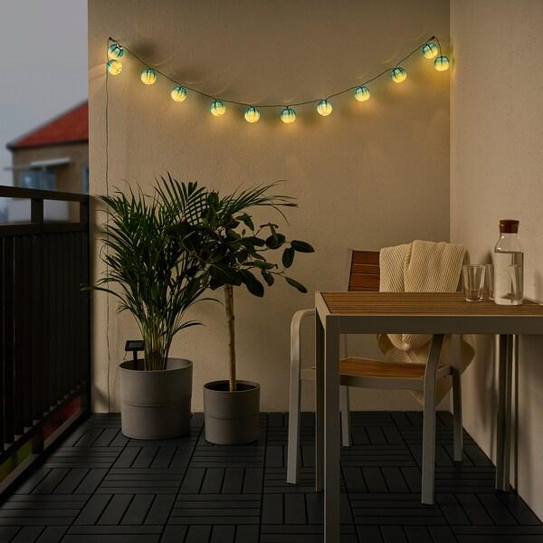 SOLVINDEN شريط إضاءة LED مع 12 لمبة