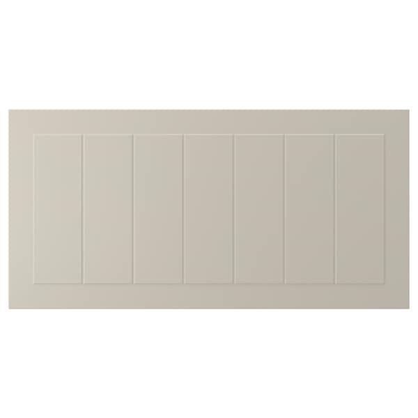 STENSUND Drawer front, beige, 80x40 cm