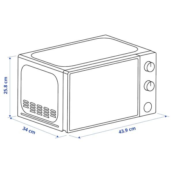 TILLREDA Microwave oven, white