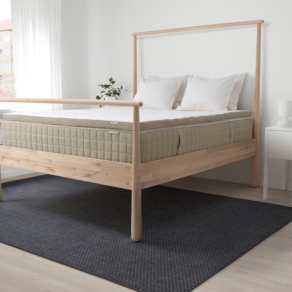 TISTEDAL mattress pad natural 200 cm 160 cm 6 cm