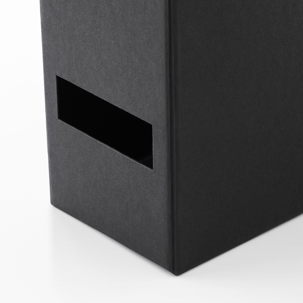 TJENA حافظة مجلات, أسود