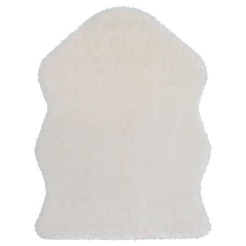 TOFTLUND rug white 85 cm 55 cm 0.47 m² 1320 g/m² 850 g/m² 21 mm