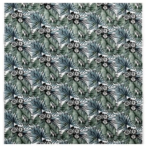TORGERD fabric white/green 230 g/m² 150 cm
