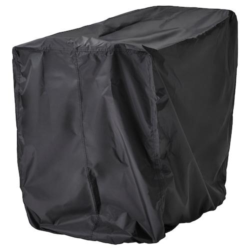 TOSTERÖ cover for furniture set black 100 cm 70 cm 90 cm