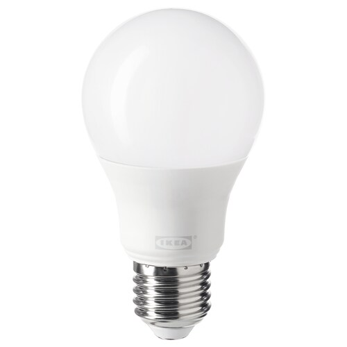 TRÅDFRI LED bulb E27 806 lumen wireless dimmable warm white/globe opal white 806 lm 2700 K 11 cm 60 mm 8.9 W