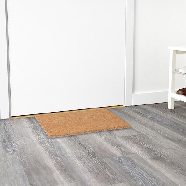 TRAMPA door mat natural 60 cm 40 cm 16 mm 0.24 m² 5900 g/m²
