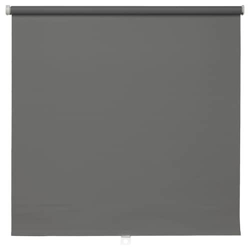 TUPPLUR block-out roller blind grey 60 cm 63 cm 195 cm 1.17 m²