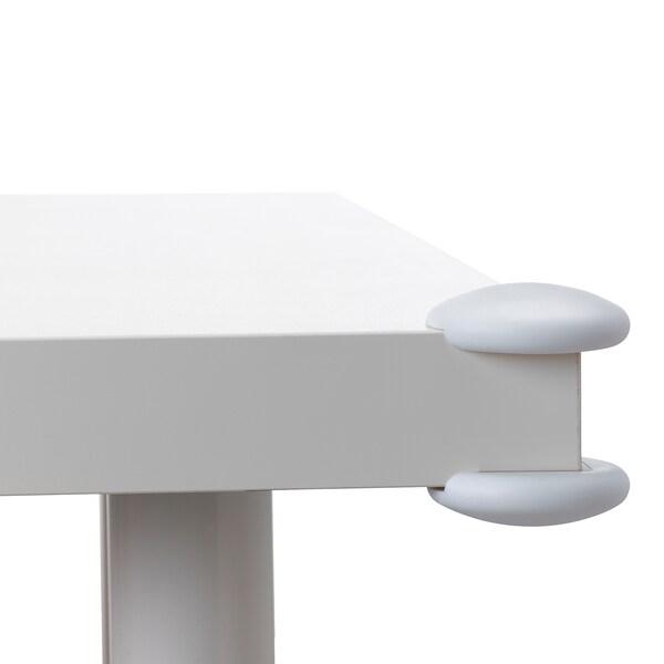 UNDVIKA corner bumper white 8 pieces