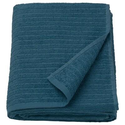 VÅGSJÖN منشفة حمّام, أزرق غامق, 100x150 سم