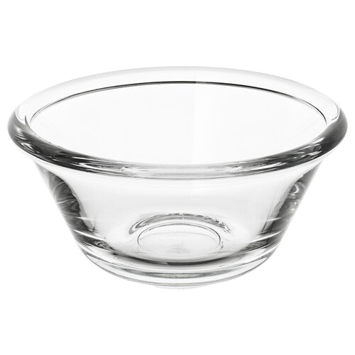 VARDAGEN bowl clear glass 5 cm 12 cm