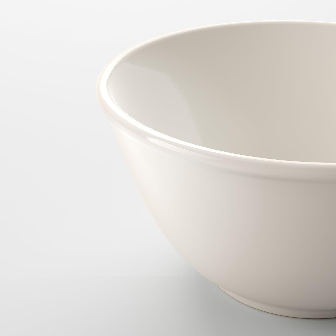 VARDAGEN سلطانية., أبيض-مطفي, 15 سم
