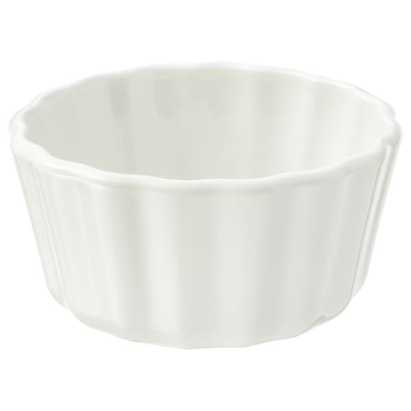 VARDAGEN صينية فطائر, أبيض-مطفي, 11 سم