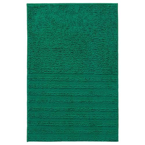 VINNFAR bath mat dark green 60 cm 40 cm 0.24 m² 1310 g/m²