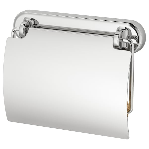VOXNAN Toilet roll holder, chrome effect