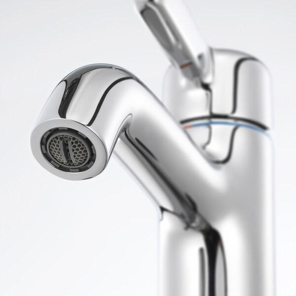 VOXNAN خلاط ماء حوض غسيل مع صمام, طلاء كروم