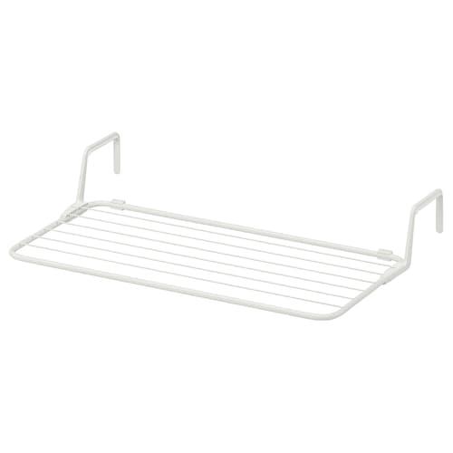 ANTONIUS séchoir blanc 77 cm 40 cm 49 cm