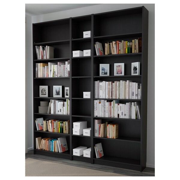 BILLY bibliothèque brun noir 200 cm 28 cm 237 cm 30 kg