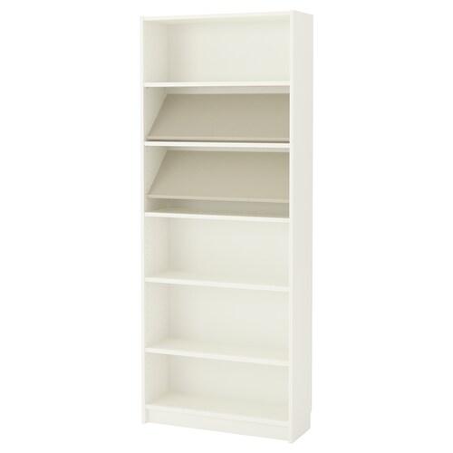 BILLY / BOTTNA bibliothèque av étagère de présent blanc/beige 80 cm 28 cm 202 cm 30 kg