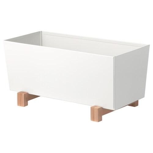 BITTERGURKA cache-pot blanc 32 cm 15 cm 15 cm
