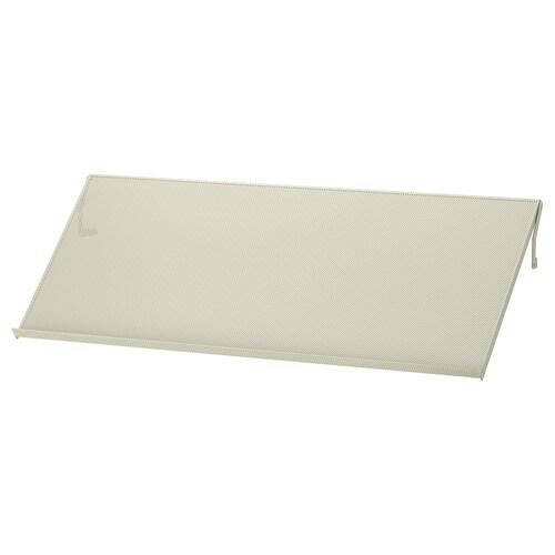 BOTTNA étagère de présentation beige clair 76 cm 32 cm 10 kg