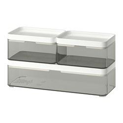 BROGRUND Boîte, 3 pièces