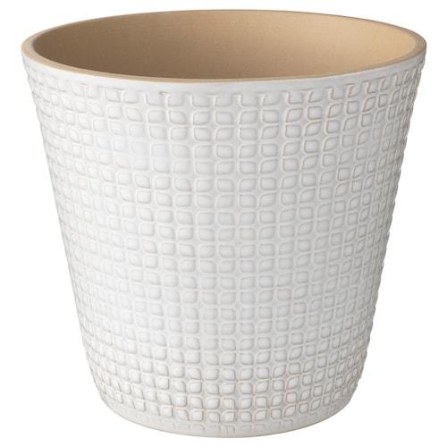 CHIAFRÖN cache-pot blanc 22 cm 24 cm 19 cm 22 cm