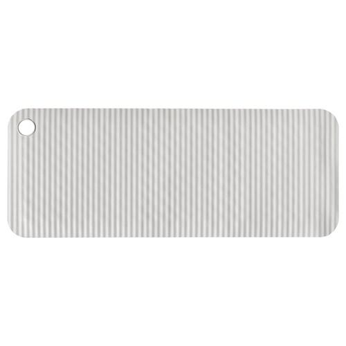 DOPPA tapis de baignoire gris clair 84 cm 33 cm