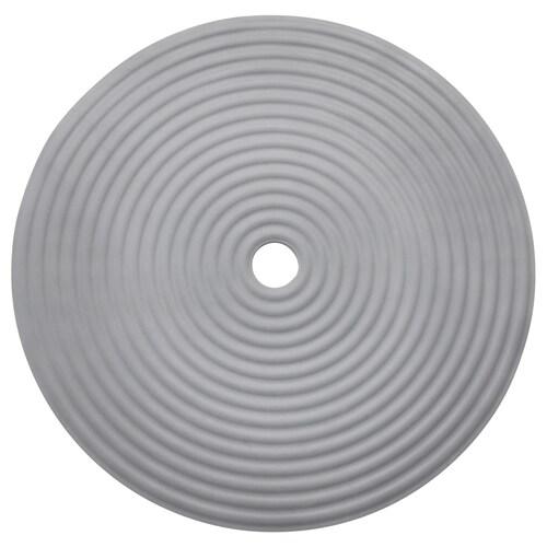 DOPPA tapis de douche gris foncé 46 cm