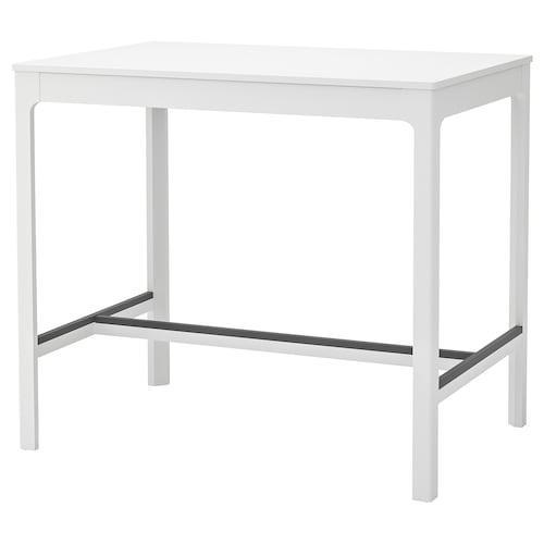 EKEDALEN table de bar blanc 120 cm 80 cm 105 cm