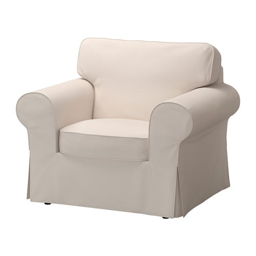 ektorp housse de fauteuil lofallet beige ikea. Black Bedroom Furniture Sets. Home Design Ideas