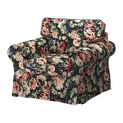 EKTORP fauteuil, Lingbo multicolore