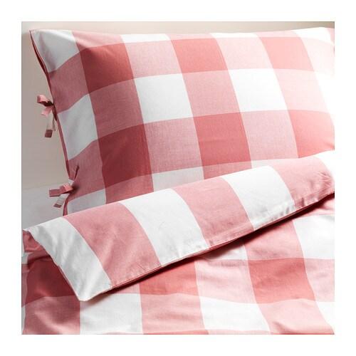 emmie ruta housse de couette et 2 taies d 39 oreiller 240x220 50x60 cm ikea. Black Bedroom Furniture Sets. Home Design Ideas