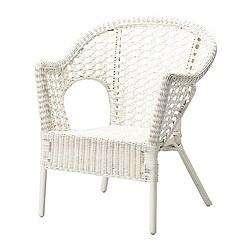 FINNTORP fauteuil, blanc
