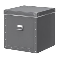 FJÄLLA Boîte de rangement avec couvercle