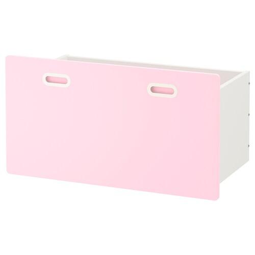 FRITIDS boîte rose clair 90 cm 49 cm 48 cm
