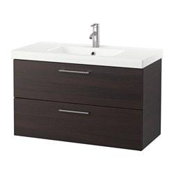 GODMORGON /  ODENSVIK Meuble pour lavabo à 2 tiroirs