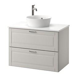 GODMORGON/TOLKEN / KATTEVIK meuble lavabo avec lavabo à poser 40