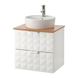GODMORGON/TOLKEN / TÖRNVIKEN meuble lavabo avec lavabo à poser 45