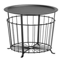 GUALÖV table de rangement, noir