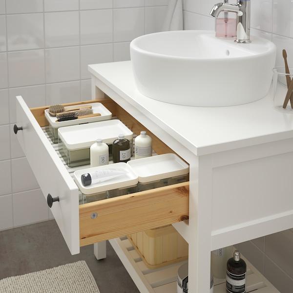 HEMNES élément lavabo ouvert avec 1 tiroir blanc 82 cm 48 cm 76 cm