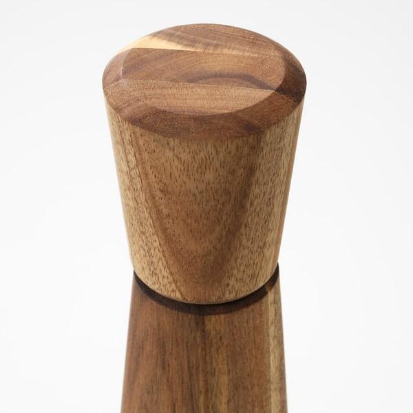 INTRESSANT moulin à épices acacia 27 cm 7 cm