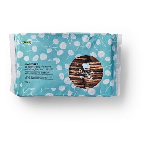 KAFFEREP biscuits à l'avoine chocolat/certifié UTZ 600 g