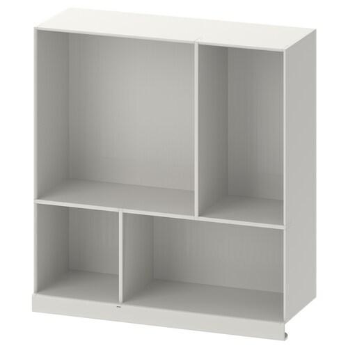 KALLAX demi-étagère gris clair 33 cm 12 cm 35 cm
