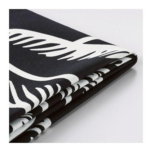 klippan housse de canap 2 pla avsiktlig blanc noir ikea. Black Bedroom Furniture Sets. Home Design Ideas