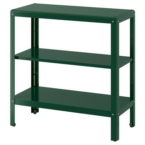 KOLBJÖRN étagère intérieur/extérieur vert 80 cm 35 cm 81 cm 25 kg