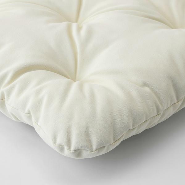KUDDARNA Coussin de chaise, extérieur beige 36x32 cm