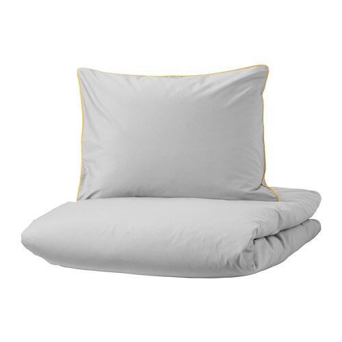 kungsblomma housse de couette et taie d 39 oreiller 150x200 50x60 cm ikea. Black Bedroom Furniture Sets. Home Design Ideas