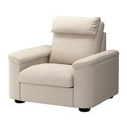 LIDHULT fauteuil, Gassebol beige clair